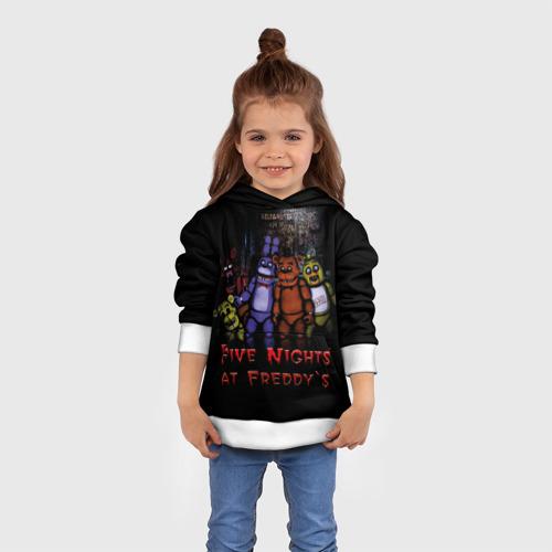 Детская толстовка 3D Five Nights At Freddy's