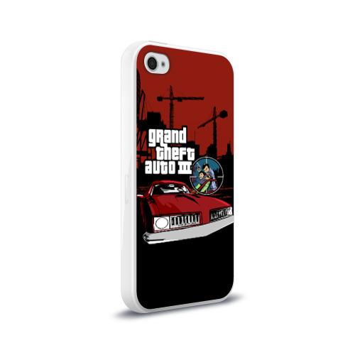 Чехол для Apple iPhone 4/4S силиконовый глянцевый  Фото 02, GTA 3