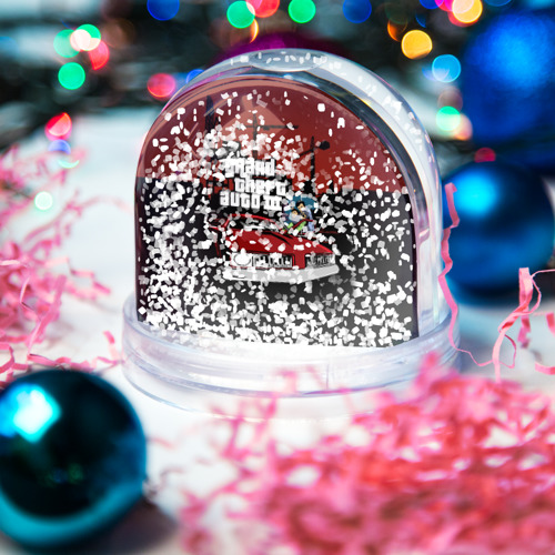 Водяной шар со снегом  Фото 04, GTA 3