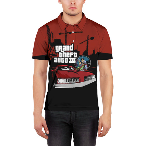 Мужская рубашка поло 3D  Фото 03, GTA 3