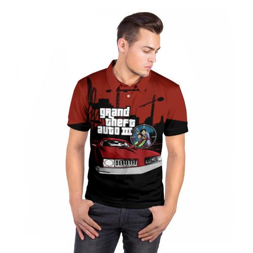 Мужская рубашка поло 3D  Фото 05, GTA 3