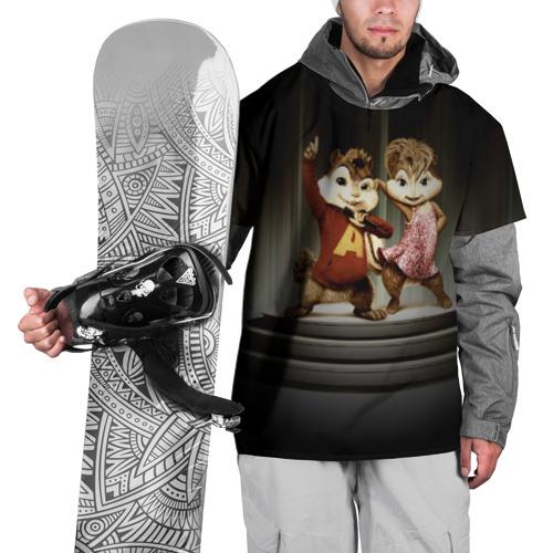 Накидка на куртку 3D  Фото 01, Бурундучки