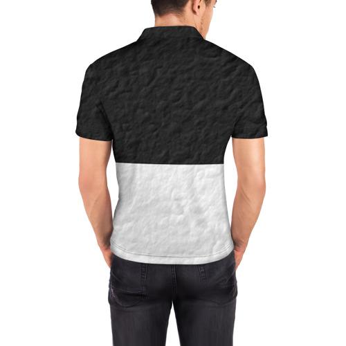 Мужская рубашка поло 3D  Фото 04, Black cat