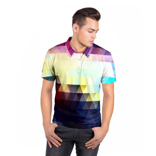 Мужская рубашка поло 3D  Фото 05, Liberty