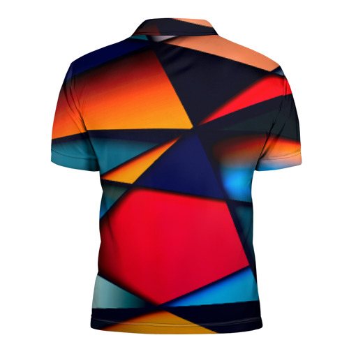 Мужская рубашка поло 3D  Фото 02, Brave