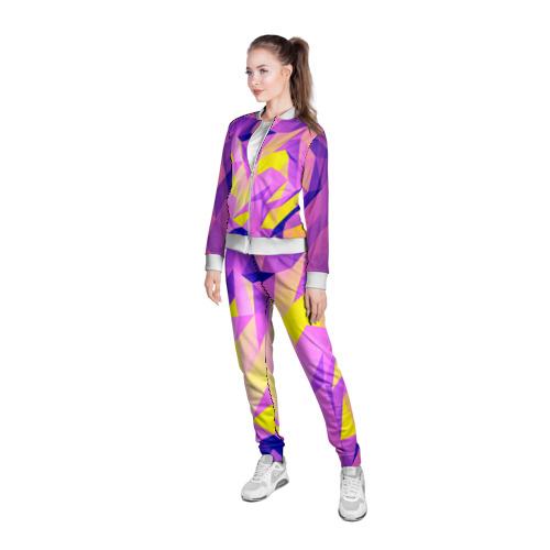 Женская олимпийка 3D  Фото 05, Texture