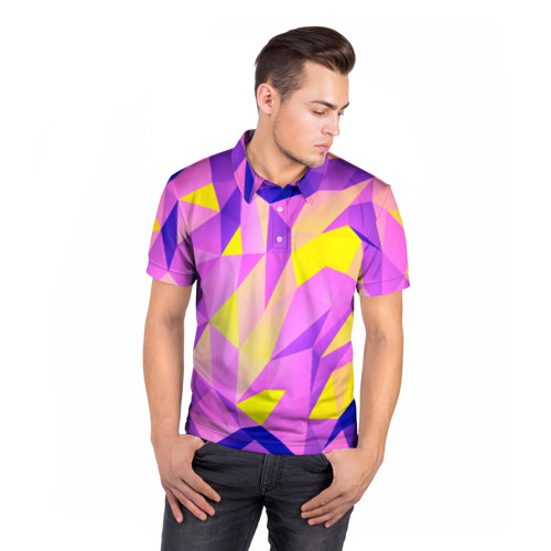 Мужская рубашка поло 3D  Фото 05, Texture