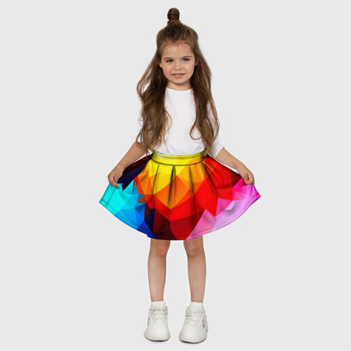 Детская юбка-солнце 3D  Фото 03, Абстракция