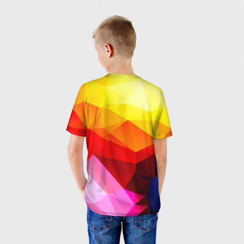 Детская футболка 3D  Фото 02, Абстракция