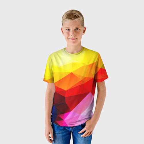 Детская футболка 3D  Фото 01, Абстракция