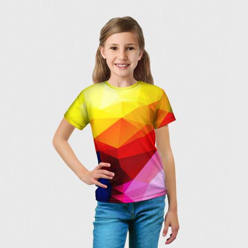 Детская футболка 3D  Фото 03, Абстракция