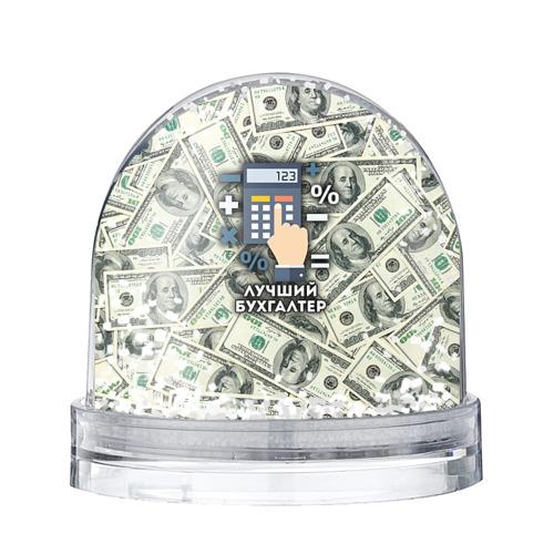 Водяной шар со снегом Лучший бухгалтер