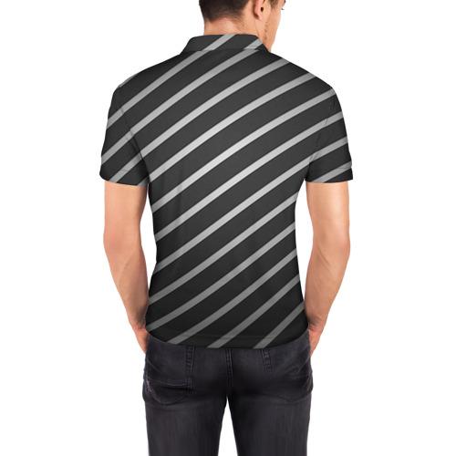 Мужская рубашка поло 3D  Фото 04, Work hard