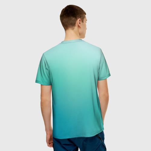 Мужская футболка 3D  Фото 02, Лучший админ