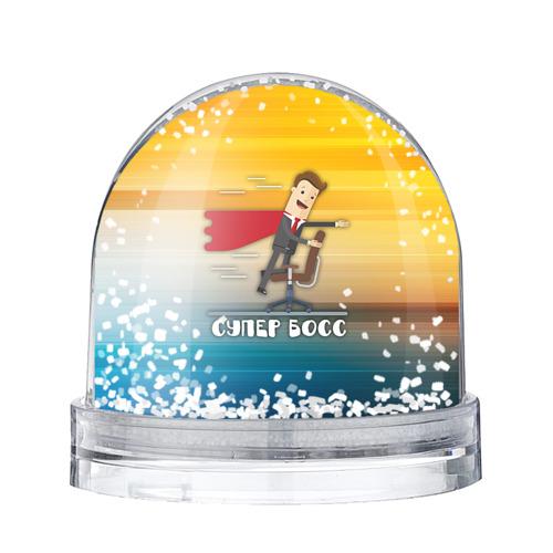 Водяной шар со снегом Супер босс