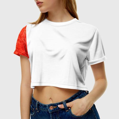 Женская футболка 3D укороченная Лучший хирург