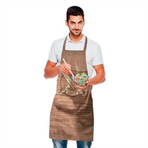 Фартук 3D Chefs Фото 01