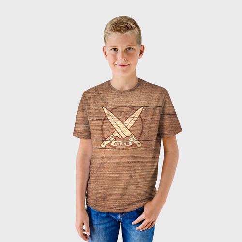 Детская футболка 3D Chefs