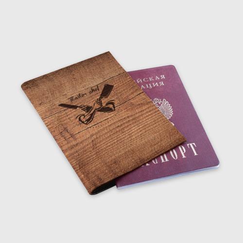 Обложка для паспорта матовая кожа  Фото 03, Master chef