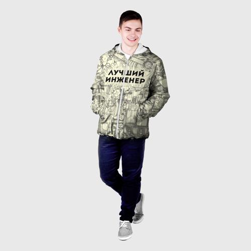 Мужская куртка 3D Лучший инженер Фото 01