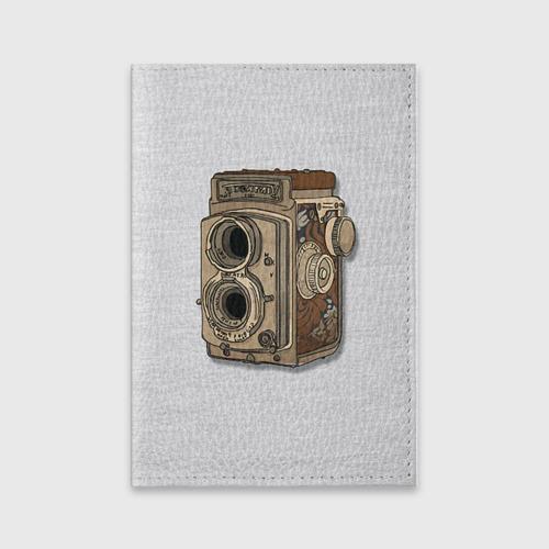 Обложка для паспорта матовая кожа  Фото 01, Фотоаппарат