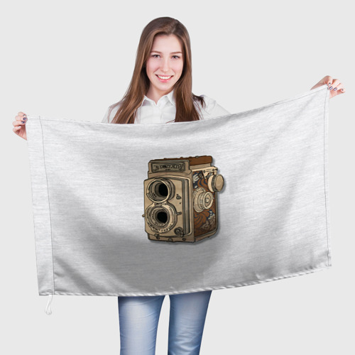 Флаг 3D  Фото 01, Фотоаппарат