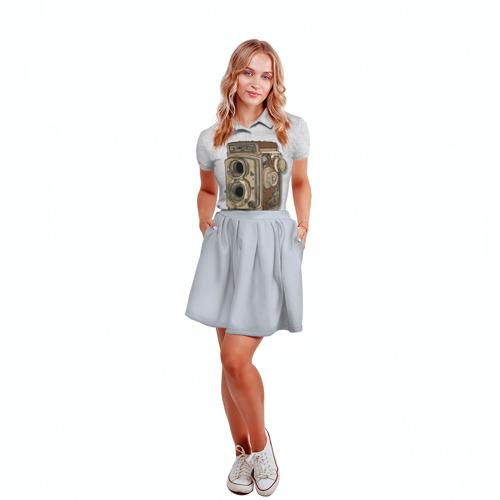 Женская рубашка поло 3D  Фото 04, Фотоаппарат