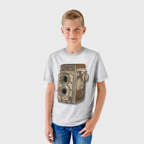 Детская футболка 3D Фотоаппарат