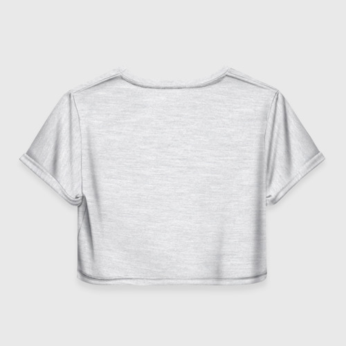 Женская футболка 3D укороченная  Фото 02, Фотоаппарат