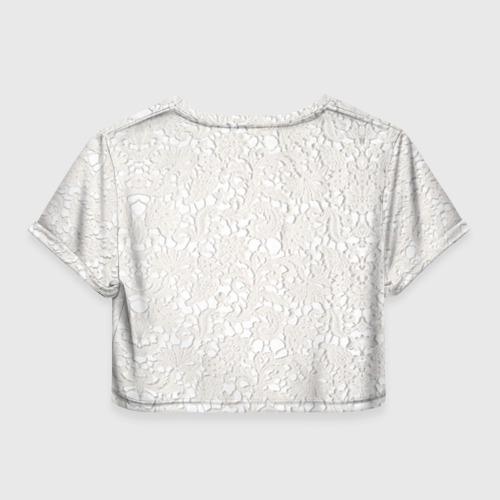 Женская футболка 3D укороченная  Фото 02, Самая лучшая тетя