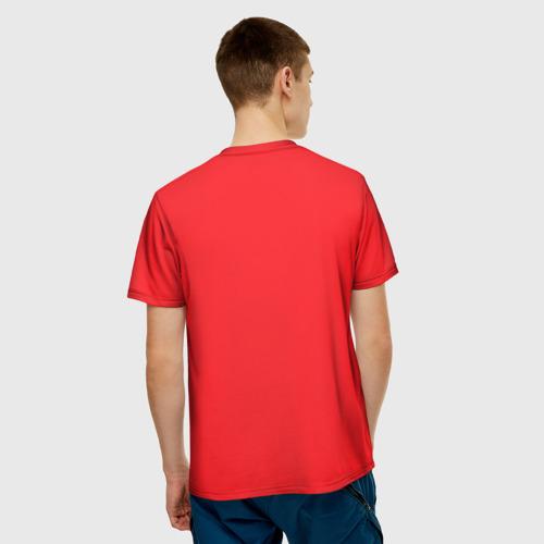 Мужская футболка 3D  Фото 02, Фотоаппарат с птичкой