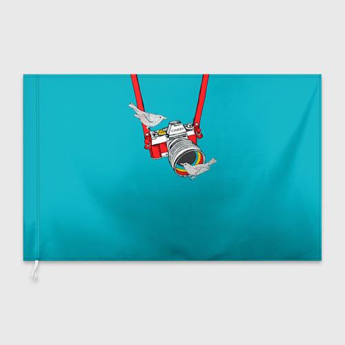 Флаг 3D  Фото 03, Зеркалка