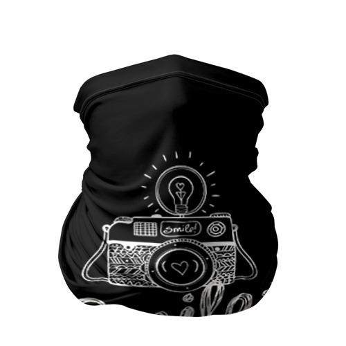 Бандана-труба 3D Smile
