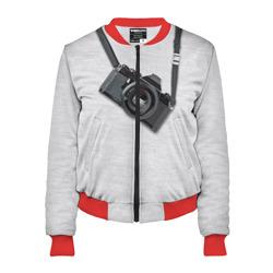 Фотоаппарат на груди