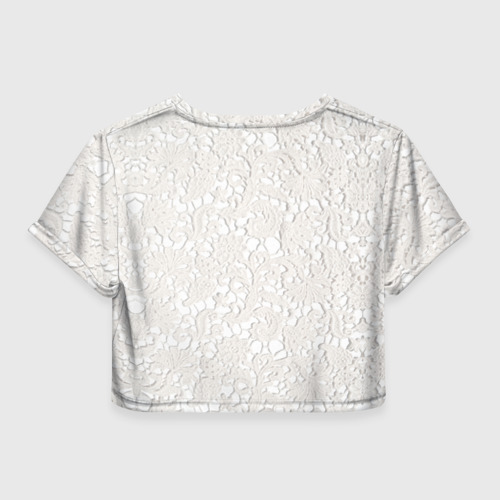Женская футболка 3D укороченная  Фото 02, Самая лучшая мама