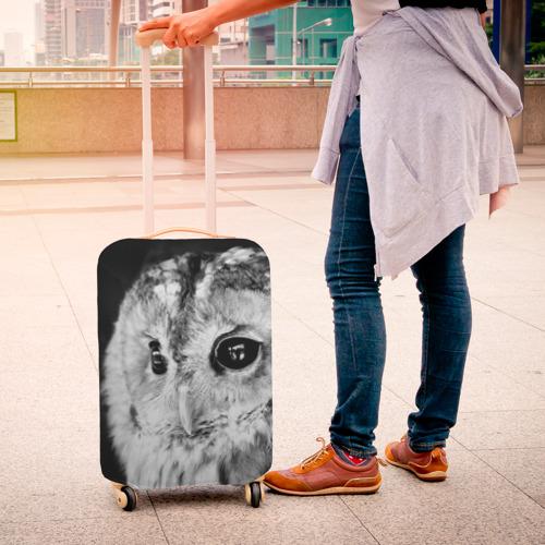 Чехол для чемодана 3D  Фото 04, Сова