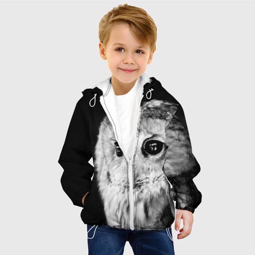 Детская куртка 3D  Фото 03, Сова
