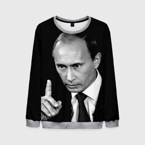 Мужской свитшот 3D Путин L фото