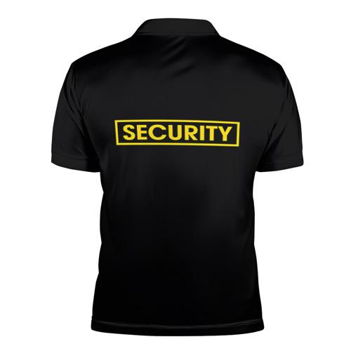 Мужская рубашка поло 3D  Фото 02, Форма SECURITY