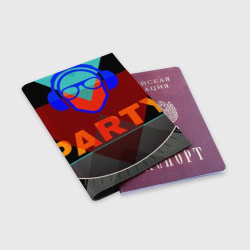 Обложка для паспорта матовая кожа  Фото 03, party