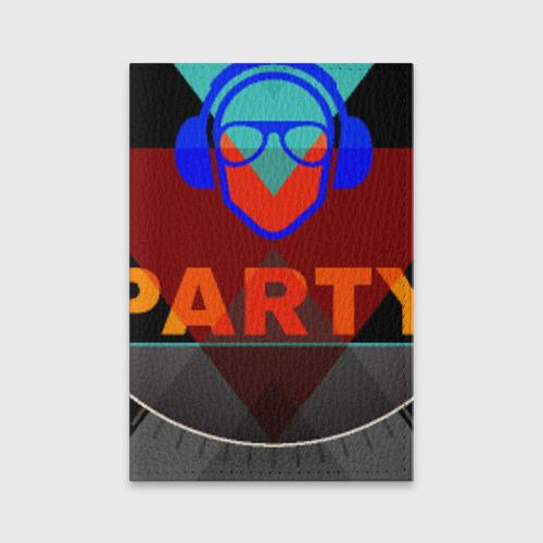 Обложка для паспорта матовая кожа  Фото 01, party