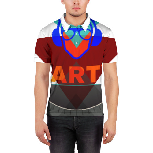 Мужская рубашка поло 3D  Фото 03, party