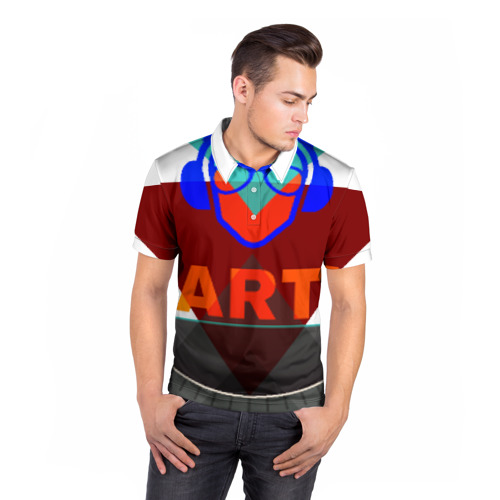 Мужская рубашка поло 3D  Фото 05, party