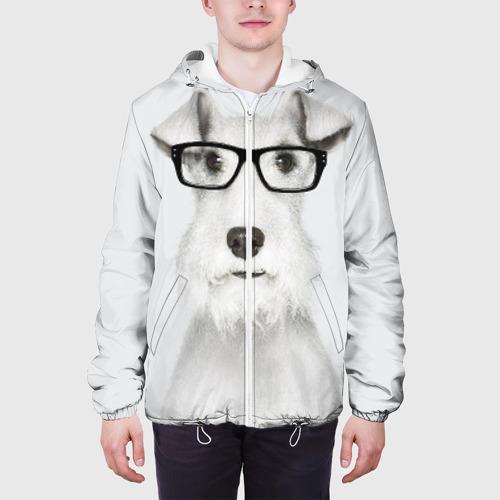 Мужская куртка 3D  Фото 04, Собака в очках