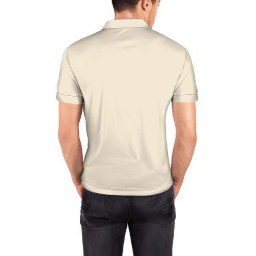 Мужская рубашка поло 3D  Фото 04, Собака в очках