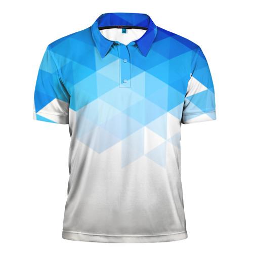 Мужская рубашка поло 3D  Фото 01, Falling skies