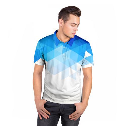 Мужская рубашка поло 3D  Фото 05, Falling skies