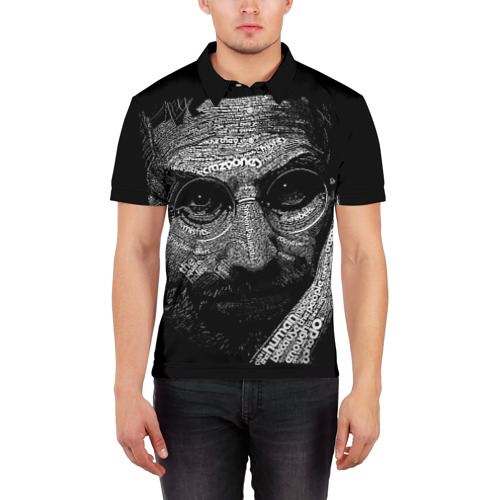 Мужская рубашка поло 3D  Фото 03, Стив Джобс