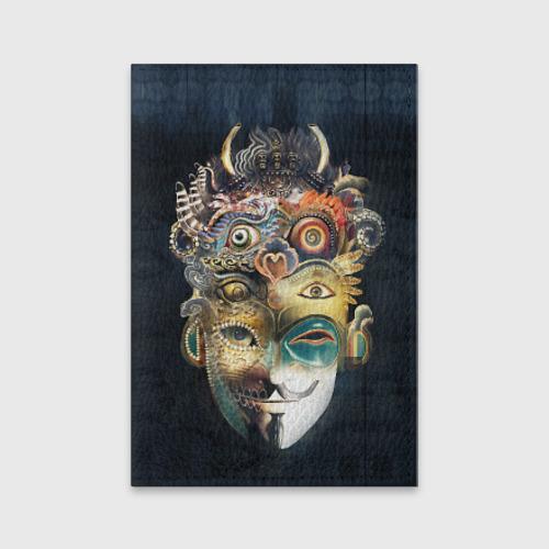 Обложка для паспорта матовая кожа  Фото 01, Маска