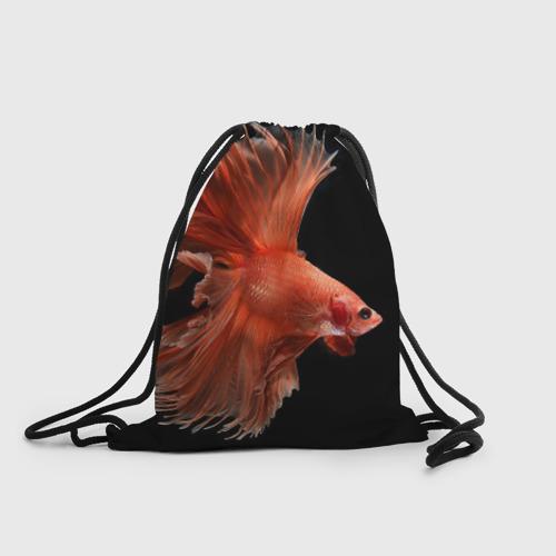 Рюкзак-мешок 3D Бойцовая рыбка One фото